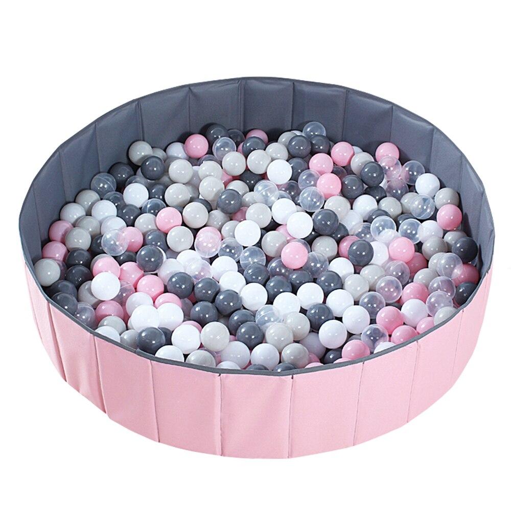 Piscine à balles pliante piscine à balles pour bébé piscine à balles sèches gris rose vert piscine à balles rondes jouets pour enfants cadeau d'anniversaire