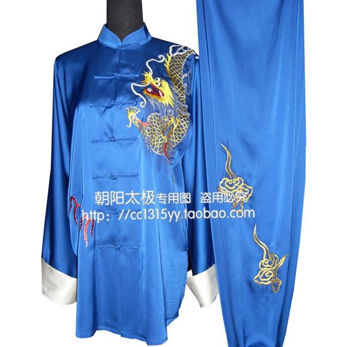 Customize Chinede Tai chi uniform taiji font b clothing b font Martial arts suit wushu garment