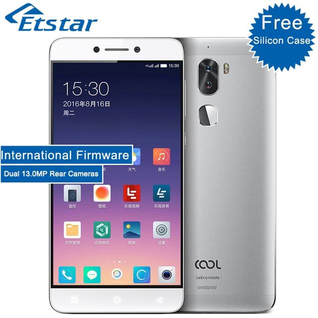 Оригинальный Coolpad LeEco Прохладный 1 Двойной смартфон карты 5.5 ''32 ГБ Встроенная память Snapdragon 652 Octa core 13.0 МП Dual Сзади Камера 4060 мАч