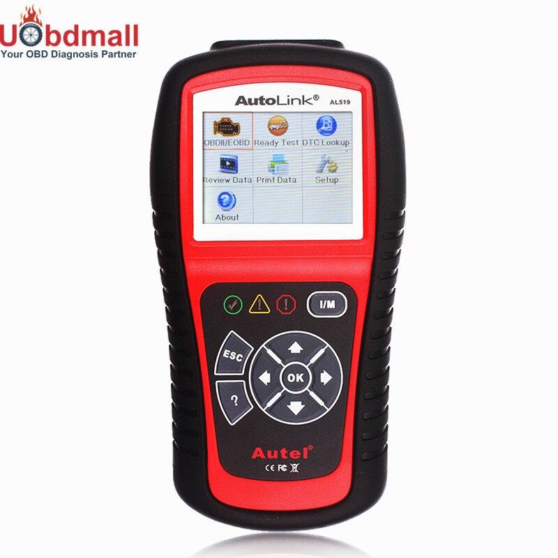 ФОТО Original OBD Automotive Scanner AutoLink AL519 OBD2 EOBD JOBD Code Readers & Scan Tools AL519 Better Than elm327 Diagnostic Tool