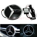 Free Shipping car-styling Grille Center Emblem Badge LED Illuminated Star Kit For Mercedes W205 2016