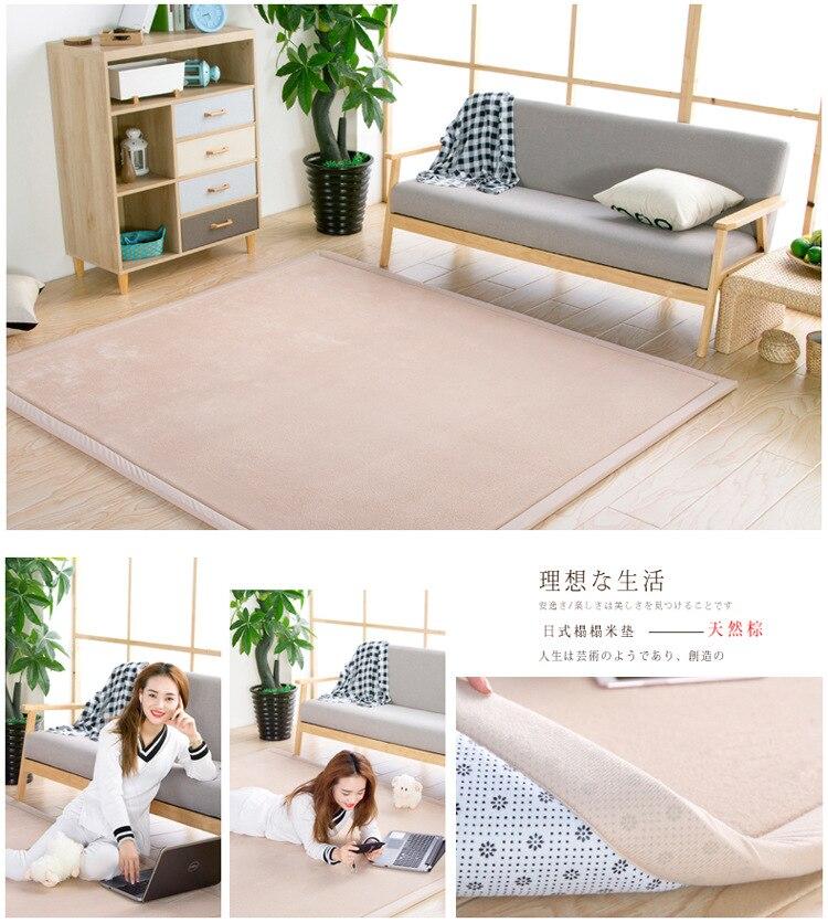 Baby Play Mat Coral Velvet Antiskid Design Crawling Mat  Baby Carpet Mat for Children Game Pad Super Soft Comfortable Playmat  (12)