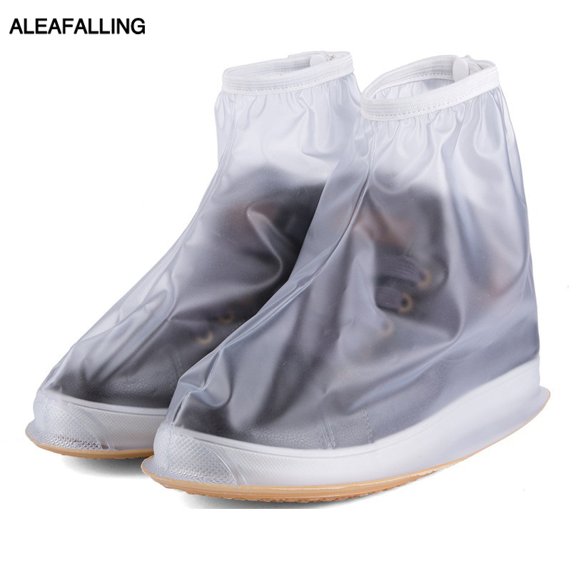 Aleafalling Rainproof Waterproof Reusable Rain Shoes Cover Boots Flat Overshoes Cover Slip Resistant High Grade Shoe Cover ASC1 смартфон alcatel 5045d pixi 4 white orange page 3