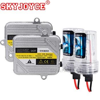 SKYJOYCE キセノン H1 H3 H4 4300 k H7 6000 k H11 5000 k H8 HB3 HB4 H27 55 ワット HID キセノンキットバラスト電球カーライトヘッドライト DRL ランプキット