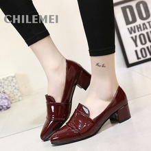 Fashion PU Material Women Dress Shoes Pointed Toe Western Style Simple High Quality Material Basic Style Unique Design