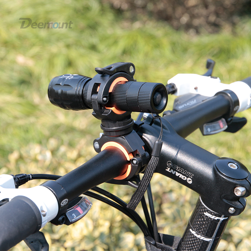 Deemount bicikla svjetlo nosač bicikla držač žarulje LED - Biciklizam - Foto 5