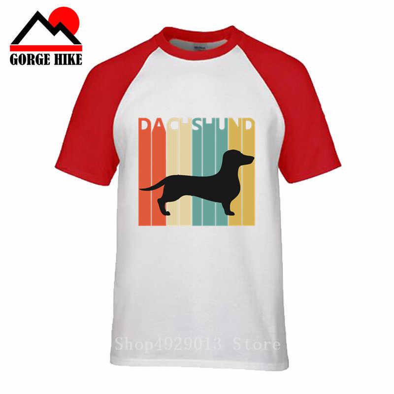 Standard Dackel Hemd Retro Vintage Kühlen Wiener Hund Weenie Mama Lustige Dackel Geschenk Welpen Haustier Liebhaber Besitzer Männer Teckel T-Shirt