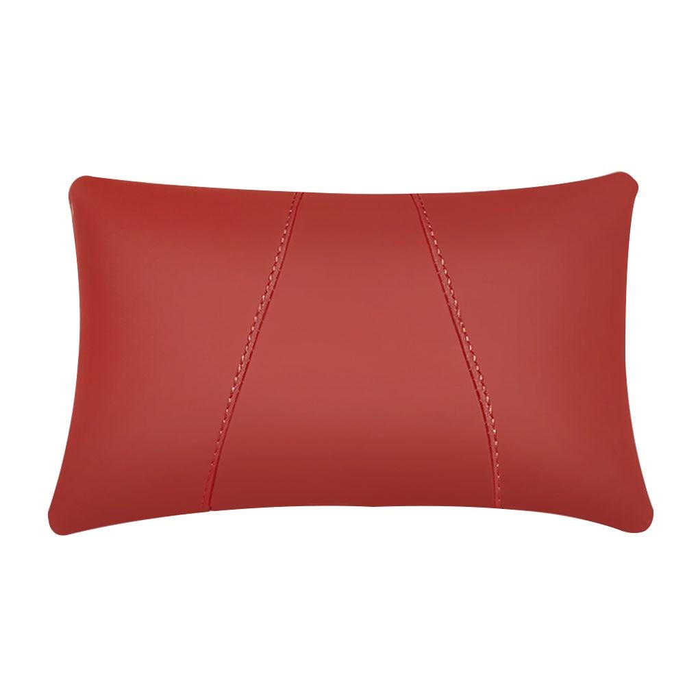 Поясная наволочка для подушки автомобиля креативная подушка для шеи для автомобиля - Цвет: Red
