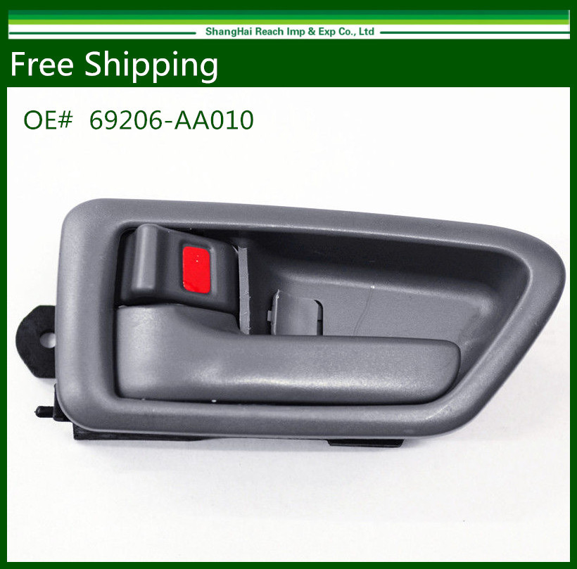 Black Front Exterior Door Handles With Keyhole For Toyota