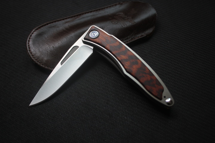 CH01 folding knife pocket M390 blade Titanium/wood handle tactical flipper camping knives survival EDC kitchen hunting multitool