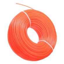 Mayitr 1 Roll 2.4mm Trimmer Line Rope Trimmer Rope Lawn Mower String Nylon Trimmer Line Rope Replacement Thread Spool craftsman automatic feed spool with nylon line replacement 71 85942