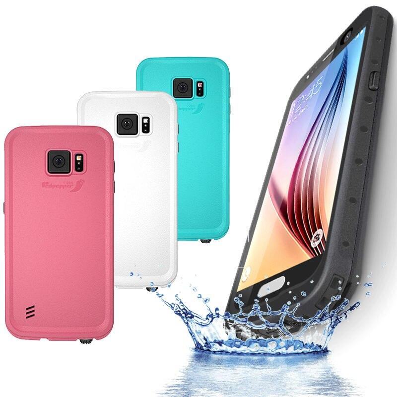imágenes para Redpepper Toque de pantalla Completa IP68 A Prueba de agua A Prueba de Golpes Cubierta de la Carcasa para Samsung Galaxy S6 Teléfono Capinha Coque