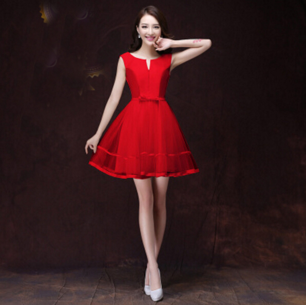 Aliexpresscom  Buy Teen High Fashion Sexy Girl Short Sweet 16 Red Dress Short Prom Dresses -2679