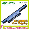 Apexway 6600mAh laptop Battery for Acer AS10D31 AS10D75 AS10D51 AS10D71 Aspire 4741 5741 5750g 5552g 5742g 5551g 5560g 5733z