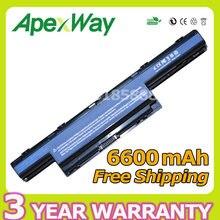 Apexway 6600 mAh Da Bateria do portátil para Acer AS10D31 AS10D71 AS10D75 AS10D51 Aspire 4741 5741 5750g 5552g 5742g 5551g 5560g 5733z