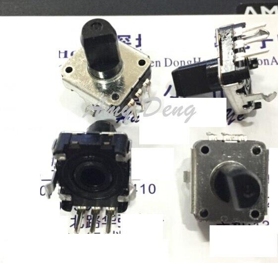 Enthusiastic 20pcs/lot Ec12e24204a2 Code Switch 24 Locaon 24 Pulse Shaft Length 10mm Passive Components