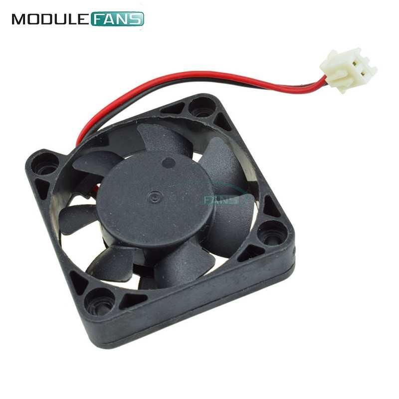Hitam 2 Pin 12V 4010 Brushless DC Fan PC Kipas Pendingin UNTUK ARDUINO Raspberry Pi RepRap Landai 3D printer 40 Mm X 10 Mm