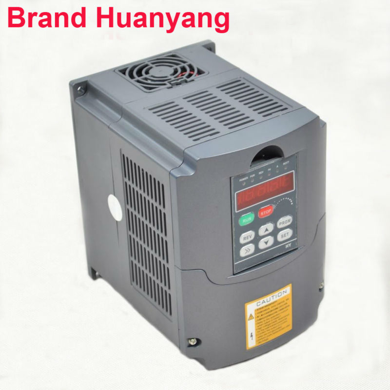frequency converter 1 phase input 3 phase output 3HP 10A variable frequency drive inverter spindle motor speed controller vfd ac inverter 2 2kw 3hp 10a 1 phase input 3 phase output variable frequency drive inverter spindle motor speed controller vfd