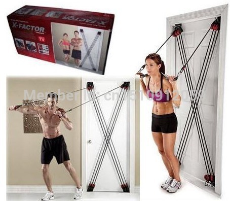 Superbe X Factor Home Door Gym Exercise Total Body Training System Stronger Body  Faster Results Fedex Free Drop In Resistance Bands From Sports U0026  Entertainment On ...