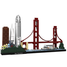 Architecture Skyline Collection San Francisco Building Blocks Kit City Bricks Classic Mode