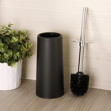 WC Brush Set Testing Decoration High Quality Plastic Toilet Brush Cup Toilet Bowl Stainless Steel Toilet Brush Rod