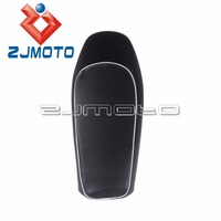Universal Motorcycle Cushion Waterproof Soft Seat Cover Flat Black Seat Cushion Cafe Racer Seat For Honda