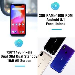 Image 4 - Ulefone S10 Pro телефон смартфон телефоны смартфоны 4G usb кабель Android 8.1 5.7 inch MT6739WA Quad Core 2GB RAM 16GB ROM 16MP+5MP