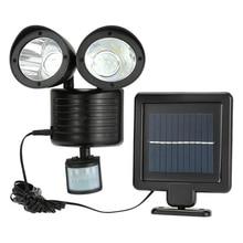 Solar Outdoor LED Security Lights with Motion Sensor IP65 Waterproof Dusk to Dawn for Front Door Yard Garage Deck