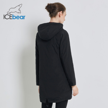 ICEbear 2019 High Quality New Women's Autumn Coat Fashion Female Coats Hooded Women's Clothing Women's Brand Jacket  GWC19028I 1