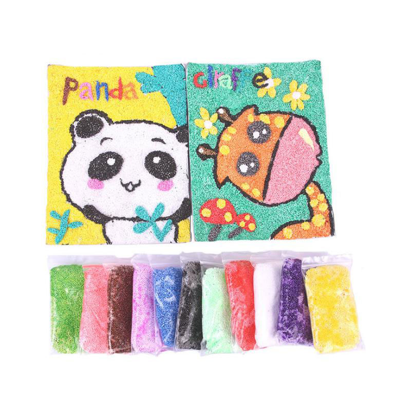 Colorful Snow Mud Fluffy Floam Slime DIY Putty Plasticine Scented Gift Children Toy