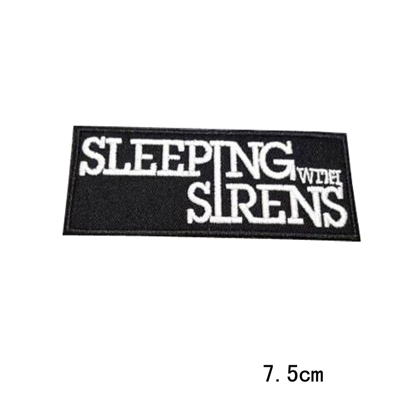 embroidered sew iron patch