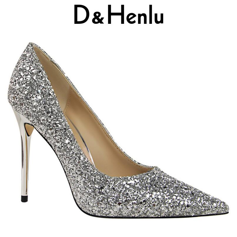 Schuhe gold glitter