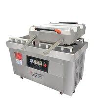 Автоматическая вакуумная упаковка продуктов герметик двойная камера Сухой Вакуум влажная вакуумная герметичная машина для выпечки стальн