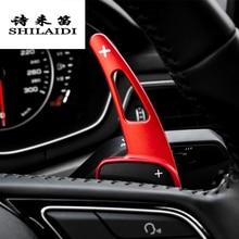 Автомобиль Стайлинг для Audi A4 B9 A5 руль сдвиг Paddle расширение Манетки замена крышки Sitcker интерьер авто аксессуары