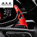 Car styling For Audi A4 B9 A5 Steering Wheel Shift Paddle Extension Shifters Replacement Cover Sitcker Interior Auto Accessories