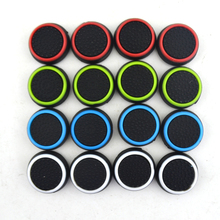 100 pcs Game Accessory Protect Cover Silicone Thumb Stick Grip Caps for PS3 /PS4 for Xbox 360 for Xbox one Game Controllers plastic protective case for xbox 360 controllers orange