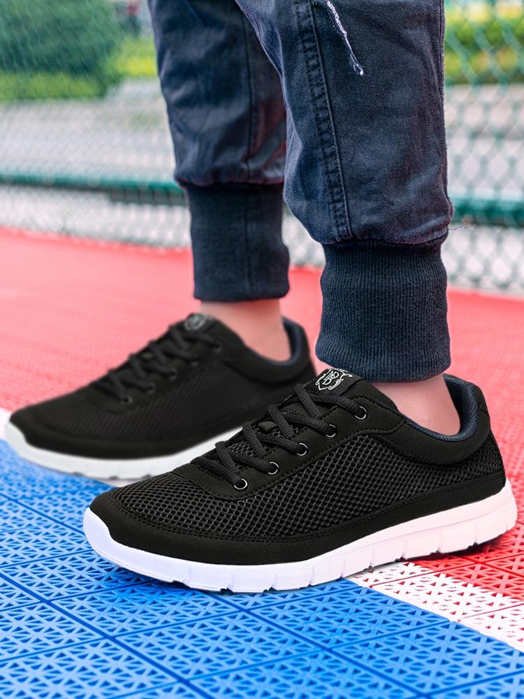 Brand Shoes 50-Sneakers Comfortable Zapatos-De-Hombre Big-Size Walking Super-Lightweight