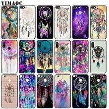 YIMAOC Dream catcher watercolor dreamcatcher Soft Silicone C