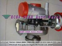 Бесплатная доставка GT2256V 704361 704361-5006S 704361-0005 704361-0004 Турбокомпрессор Для BMW 330D E46 X5 E53 99-03 M57D M57 D30 3.0L