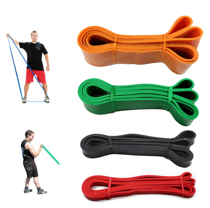 Freies Verschiffen orange Naturlatexbänder - Fitness und Bodybuilding - Foto 5