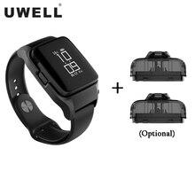 Originele UWELL Amulet Pod Systeem Kit Horloge stijl 370mAh Batterij 2ml Cartridge 10W Elektronische Sigaret Pod systeem Vaporizer