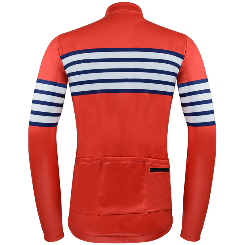 Bycicle maillot ciclismo MTB men 39 s winter thermal fleece cycling jerseys pro team Cycling Jersey RED long slveeve ropa ciclismo in Cycling Jerseys from Sports amp Entertainment