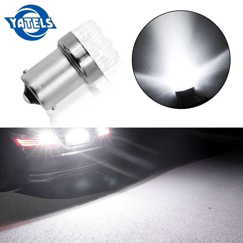 1pcs Car Light Bulb 1156 BA15S P21W S25 7506 R5W Car Leds Lights 9 LED 2835 SMD Rear Turn Signal Lamp Backup Light DC 12V