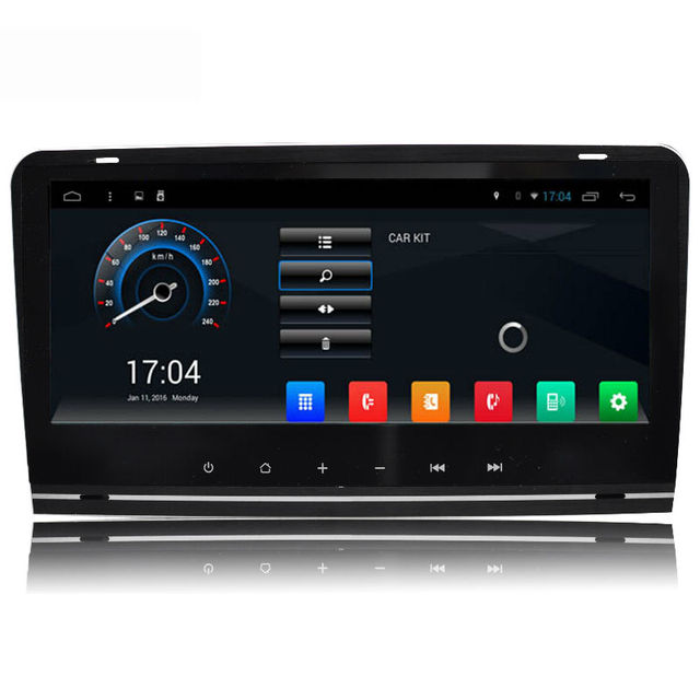 Aoluoya RAM 2GB Quad Core Android 6.0 2 Din CAR Radio DVD GPS Player For AUDI A3 S3 2003-2011 Audio Navigation multimedia WIFI
