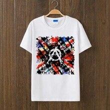 british punk rock style anarchy logo design tee men women size vintage fashion