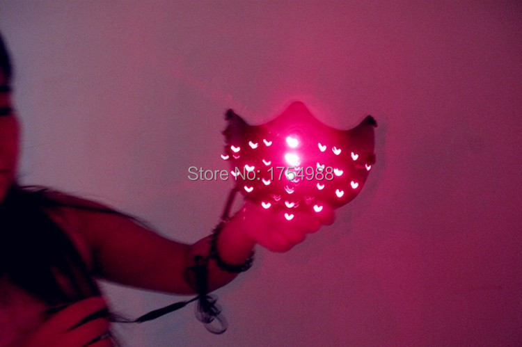 Free Shipping 25PCS laser mask half face mask red laser mask For Christmas mask Festive & Party Supplies Home Appliance Parts - 3