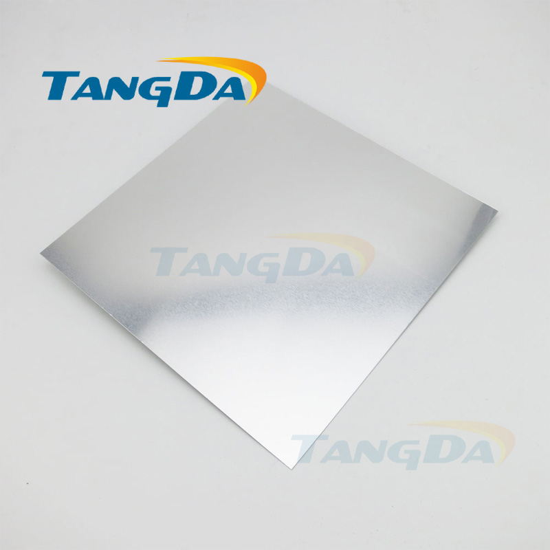 Tangda high pure tin 99.99% Sn Scientific research laboratory Metal tin plate sheets tin piece tungsten sheet plate for scientific research and experiment high purity