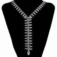 Bohemian Turkish Vintage Silver Gold Pendant Necklace Charm Chain Long Necklaces For Women Fashion Maxi Jewelry