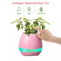 Potted Steel Rim Speakers Intelligent Musical Instruments Flower Pots K3 Wireless Bluetooth Gifts Stereo Sound