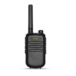 Image 2 - 100% Original  WLN KD C10 uhf 400 470MHz 16Channel mini two way radio FMR PMR walkie talkie KDC10